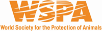 The Protection of Animals WSPA Logo